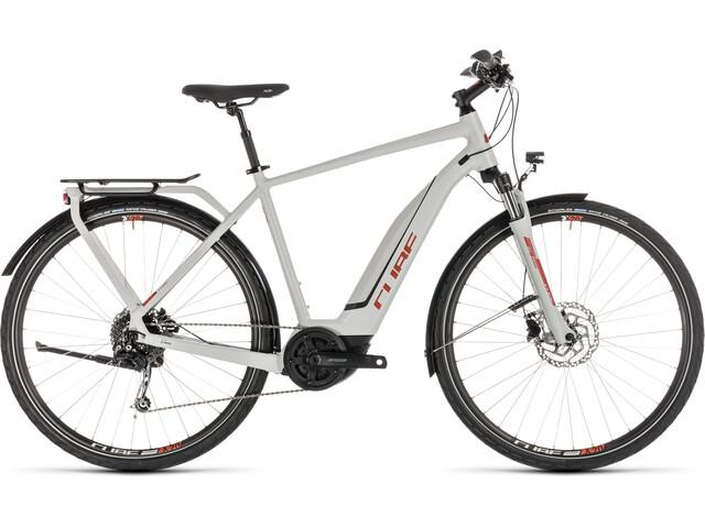 Cube Touring Hybrid 500 - Vélo de trekking électrique - gris